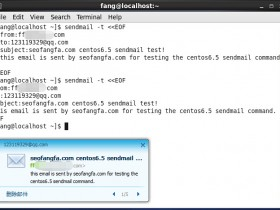CentOS6.5中使用sendmail发送crontab运行报告