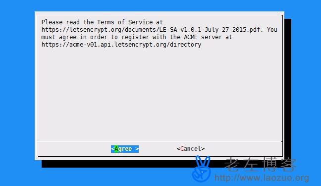 实战申请Let's Encrypt永久免费SSL证书过程教程及常见问题 | 老左博客
